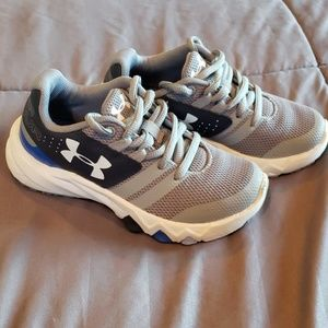 Little boys Under Armour running shoes
